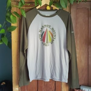 Men's Marmot Shirt Sz L